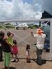 Meeting The Plane In Puerto Maldonado